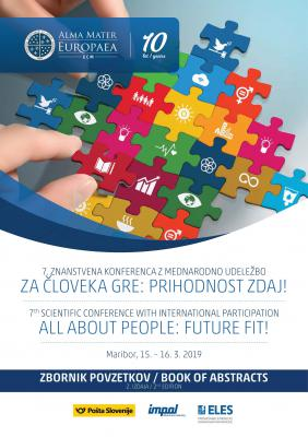 Cover for 7th scientific conference with international participation All About People: Future Fit! 2nd Edition