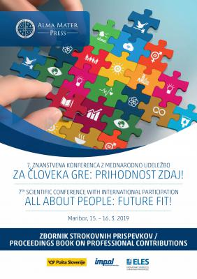 Cover for 7th SCIENTIFIC CONFERENCE WITH INTERNATIONAL PARTICIPATION ALL ABOUT PEOPLE: FUTURE FIT! Proceedings Book on Professional Contributions