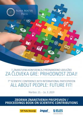Cover for 7th SCIENTIFIC CONFERENCE WITH INTERNATIONAL PARTICIPATION ALL ABOUT PEOPLE: FUTURE FIT! Proceedings Book on Scientific Contributions